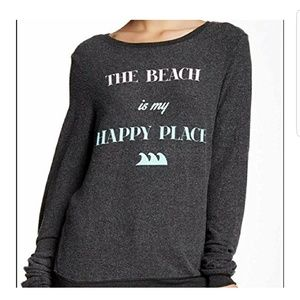 WILDFOX oversized beach pullover